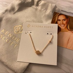 Kendra Scott Rose Gold Laureen Necklace